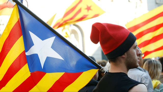 Los gobiernos occidentales repudiaron la declaración de independencia catalana