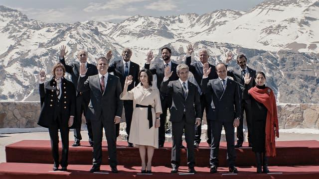 La Cordillera fue presentada en el último festival de Cannes, su estreno en el país está programado para el 17 de agosto