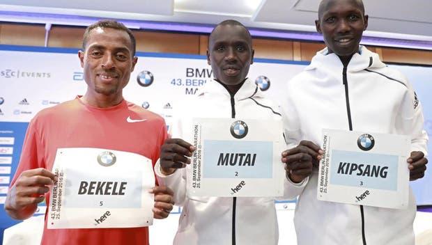 Bekele se impone en maratón de Berlín