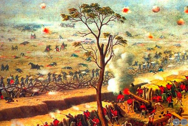 La guerra del Paraguay, en un cuadro de Cándido López