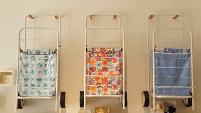 Facebook / Los changuitos vintage de Violraviol son una opción para reemplazar las bolsas de plástico