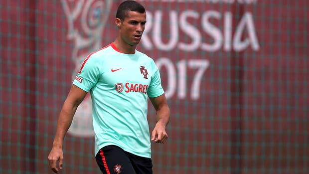 Cristiano Ronaldo está en Rusia por jugar la Copa Confederaciones