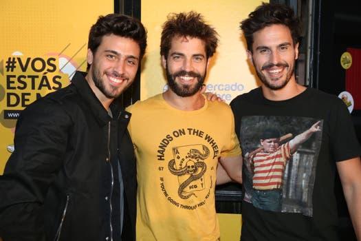 Lizardo Ponce Benjamín Alfonso y Juan Marconi.