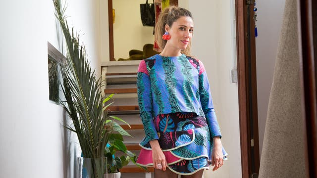 La diseñadora asturiana presentará sus colecciones en un pop up store, en Palermo