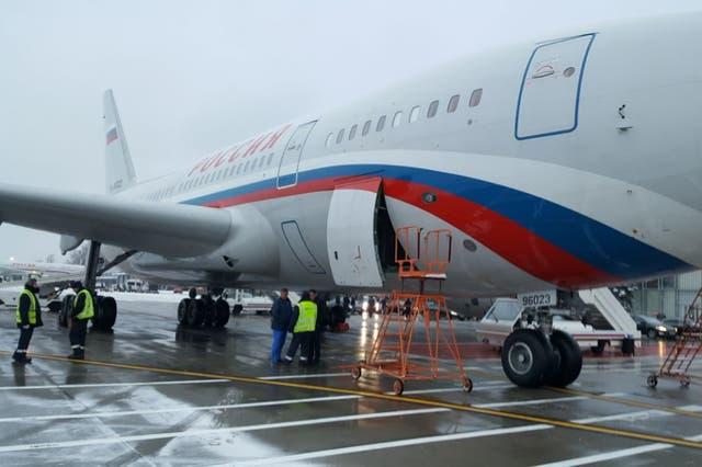 El avión salió desde Buenos Aires el 9 de diciembre pasado con las 12 valijas con los 389 kilos de droga