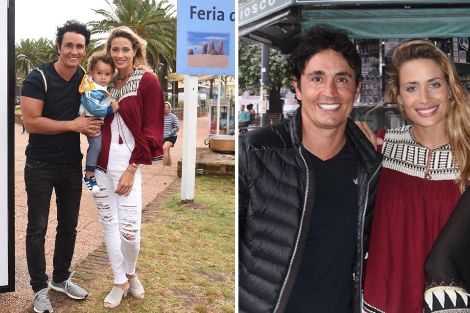 Sebastián Estevanez e Ivana Saccani hicieron un alto en Punta del Este para disfrutar un fin de semana en familia. Foto: OHLALÁ! /Gentileza Prensa