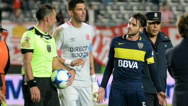 El reclamo de Gago a Trucco y a Andújar