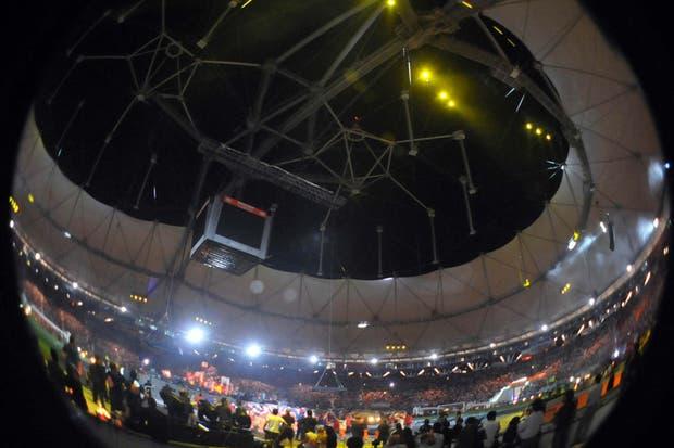 Una de las sedes de la próxima Copa América tuvo su presentación oficial.  Foto:DyN