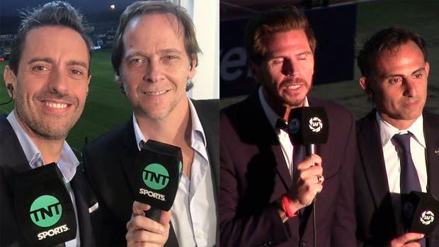 Giralt-Martin serán la dupla en TNT Sports, mientras que Vignolo y Latorre lo harán en Fox Sports Premium