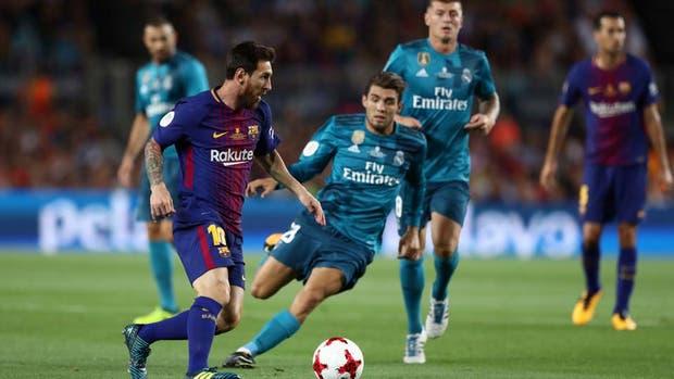 Supercopa de España: Real Madrid festejó en el Camp Nou con dos golazos