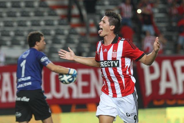 Guiido Carrillo y su grito de goleador