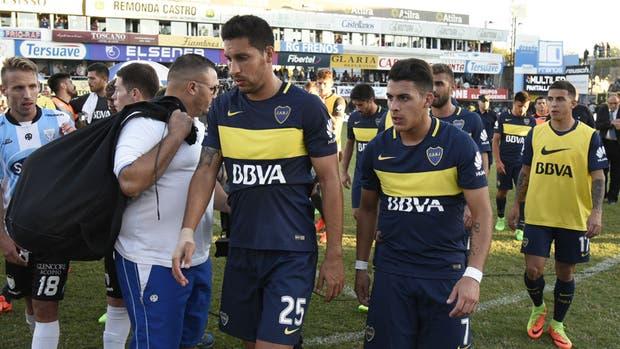 Boca detuvo su marcha triunfal como visitante en Rafaela