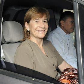 La jueza Sarmiento