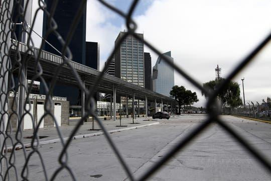 La zona donde estará ubicada esta nueva terminal es caótica en cuanto al tránsito. Foto: LA NACION / Emiliano Lasalvia