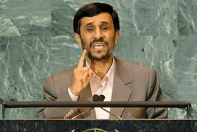 El presidente iraní, Mahmound Ahmadinejad