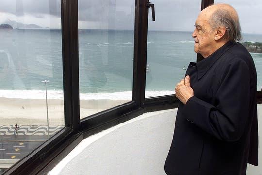Niemeyer tenía una vista privilegiada desde su oficina ubicada en la playa Copacabana, en Río de Janeiro. Foto: Archivo