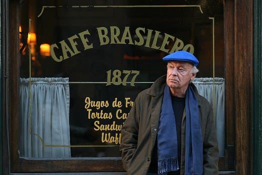 En el bar El Brasilero de Montevideo, durante una entrevista con LA NACION el 18 de agosto de 2008. Foto: Archivo / Federico Guastavino
