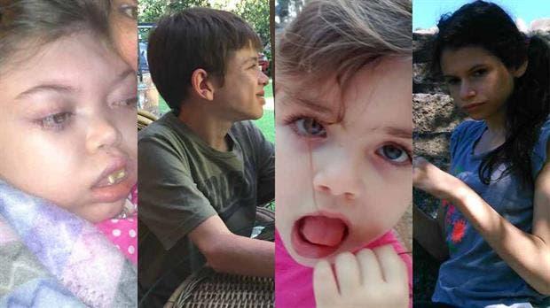 Katrina, Manuel, Josefina y Violeta, cuatro menores que fueron diagnosticados con epilepsia; después de varios tratamientos fallidos, el aceite de cannabis les mejoró considerablemente la calidad de vida