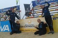 Las duplas argentinas comenzaron a buen pie el Preolímpico de Beach Volley