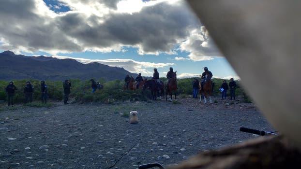 Tensión en Chubut por el desalojo de mapuches que reclamaban tierras en poder de la familia Benetton. Foto: fmalas.org.ar