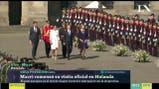 Cómo fue la primera jornada de Mauricio Macri en Holanda