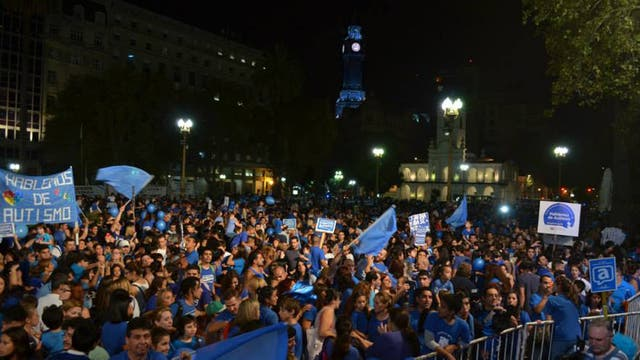 La Plaza de Mayo será el escenario de una nueva concentración para concientizar sobre el autismo