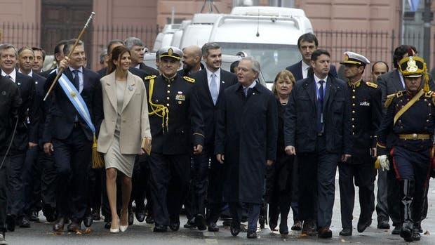Mauricio Macri y los ministros del Gabinete asistieron al tedeum