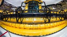 La maquinaria agrícola, en la muestra de Hannover, Alemania