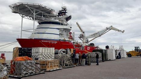 El buque noruego Skandi Patagonia, al llegar al puerto de Comodoro Rivadavia