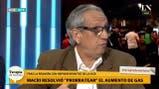 """Facundo Suárez Lastra: """"Desde el año 2001 hasta 2015 las tarifas aumentaron un 200%"""