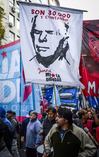 Marcha No al 2x1. Foto: DyN / Rodolfo Pezzoni