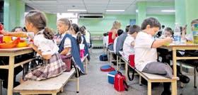 El colegio Los Robles separa a los chicos entre primero y sexto grado; a partir de séptimo hay una creciente integración