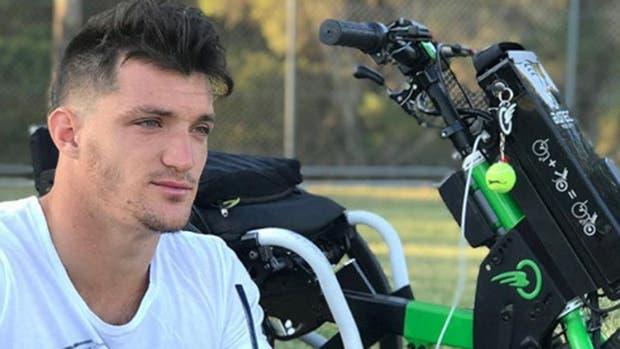 Una aerolínea perdió la silla de ruedas del campeón argentino Gustavo Fernández