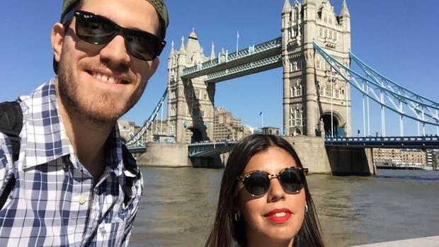 La pareja argentina que presenció el ataque en Londres