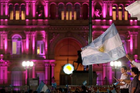 La ocurrencia y originalidad de los que participaron en la protesta del #8N. Foto: AP