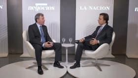 Daniel Herrero, de Toyota Argentina, con José del Río