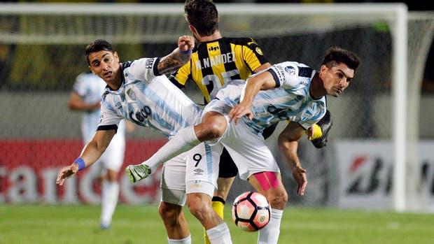 Fernando Zampedri, carta de gol de Atlético Tucumán