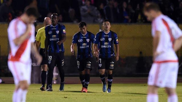 Independiente del Valle derrotó 2-0 a River en su última visita a Ecuador