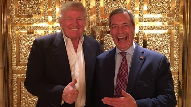 Trump apoya a Farage como embajador británico en EU
