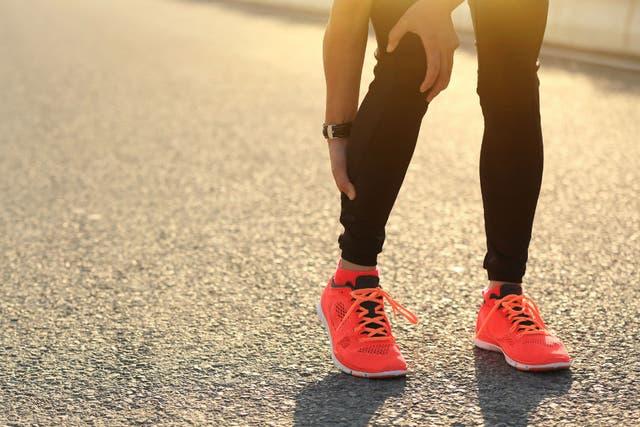Las piernas son la parte del cuerpo donde más suele sufrirse calambres