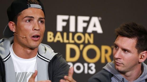 Cristiano Ronaldo y Lionel Messi, los mejores del mundo