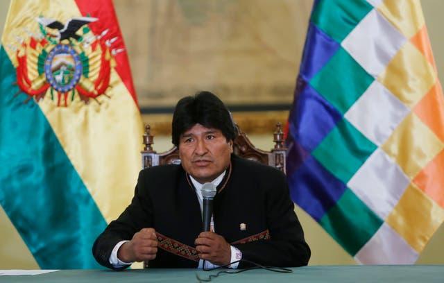 El presidente de Bolivia busca respaldar a Dilma y Lula