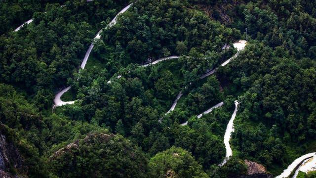 El camino que conduce a la cantera