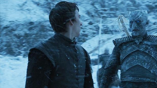 Bran Stark y el Rey de la Noche, cara a cara gracias a los poderes sobrenaturales del primero
