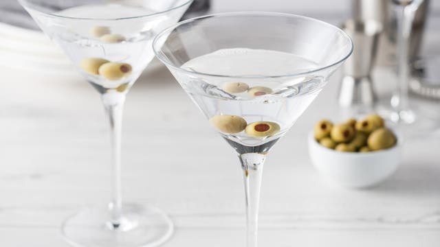 Martini seco para Virgo