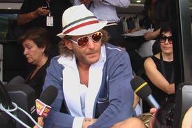 El millonario habló rápidamente con Berlusconi apenas se sucedió el robo