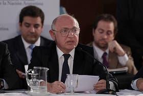 Timerman defendió el acuerdo con Irán en el Senado