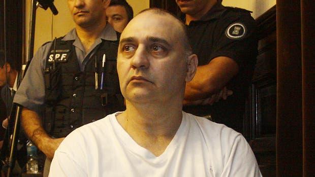 Jorge Mangeri durante el juicio