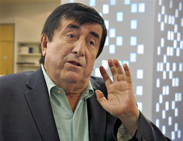 El consultor Durán Barba, ayer, en LA NACION pm