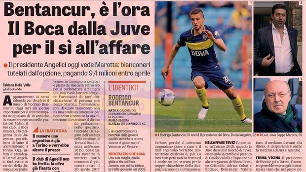 Bentancur emigra a Juventus